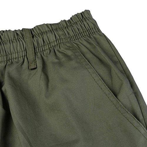Army Malloom Hommes Sports Pour Cargo Vert Pantalons Travail Shorts Combat Casual A0xBwOzPnq