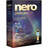 Nero Platinum 2018 4K Multimedia Suite 6 in 1 support 360 View, HEVC