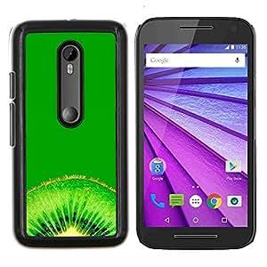 "For Motorola MOTO G3 ( 3nd Generation ) , S-type Naturaleza Hermosa Forrest Verde 118"" - Arte & diseño plástico duro Fundas Cover Cubre Hard Case Cover"