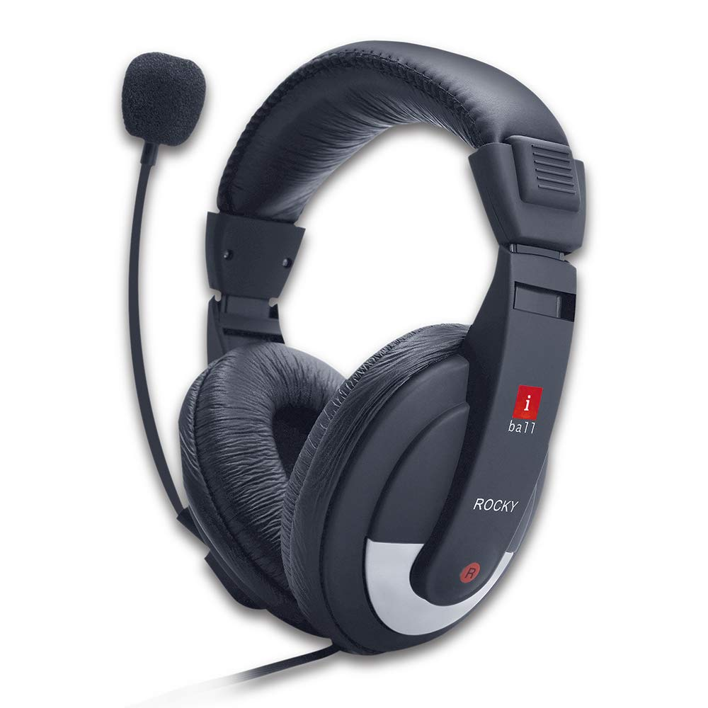 f97a5b0f362521 Amazon.in: Buy iBall Rocky Over-Ear Headphones with Mic Online at Low  Prices in India | iBall Reviews & Ratings