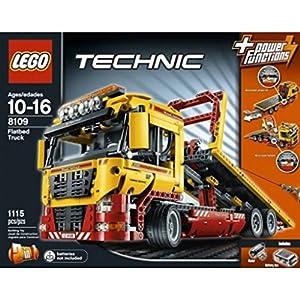 lego technic set flatbed truck toys games. Black Bedroom Furniture Sets. Home Design Ideas