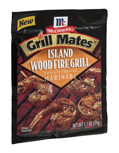 (McCormick Grill Mates Seasoning Island Wood Fire Grill 1.1 OZ (Pack of 12))