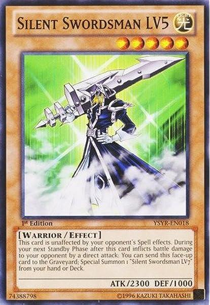 Silent Armed Dragon 40 Card Yugi Muto LV Deck Yugioh Mystic Swordsman
