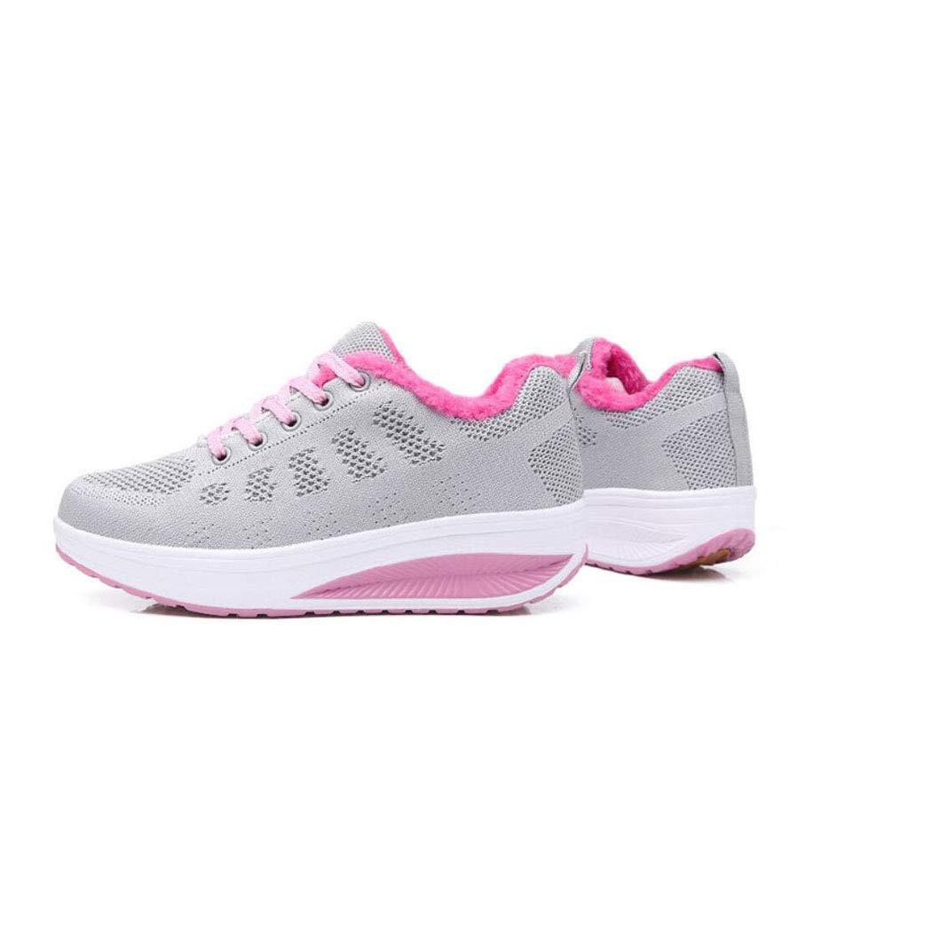 ZIXUAP Laufschuhe sind Frauen Leichtgewicht-Fashion Soprt Turnschuhe Turnschuhe Turnschuhe Casual Walking Athletic Non Slip 5b17e5
