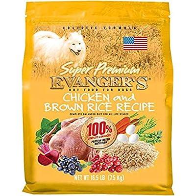 Evanger's Super Premium Dog Food Chicken with Brown Rice 33 lbs