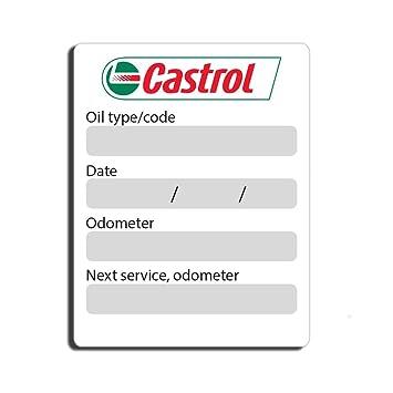 Oil Change Sticker Printer Amazon
