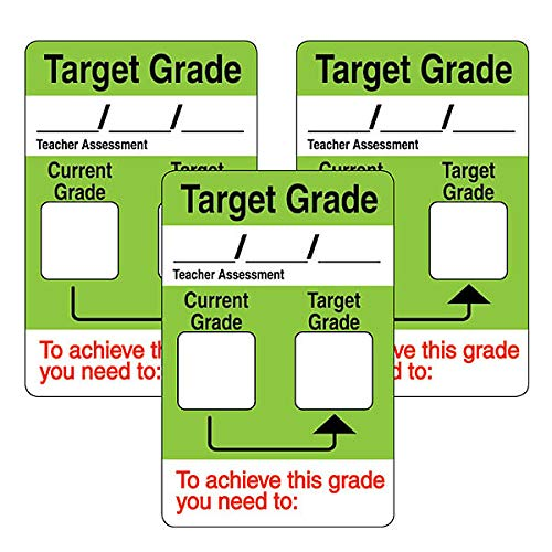 Writeable Current /& Target Grade School Stickers x 96 Primary Teaching Services