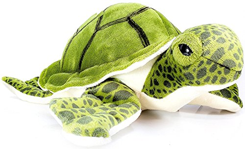 Turquoise the Green Sea Turtle | 9 Inch Tortoise Stuffed Animal Plush | By Tiger Tale Toys