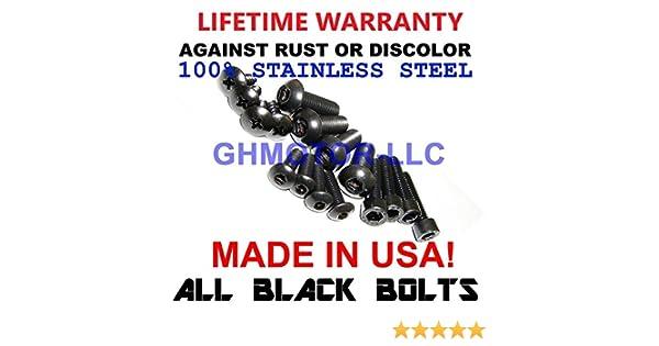 Stainless Steel Engine Bolt Kit Suzuki GSX 750 R 2000-2003