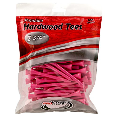 ProActive Sports 2 3/4-Inch Tees, Pink (100/Package)]()