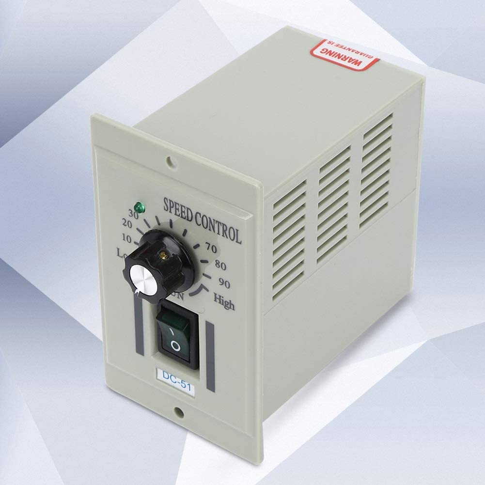 Maxmartt Motor Speed Controller 110V Input DC 0-24V Output for Packaging and Printing DC-51