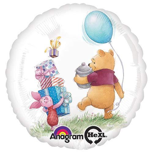 Anagram 26343 Winnie The Pooh Birthday Foil Balloon, 18