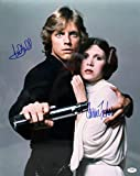 Carrie Fisher & Mark Hamill Movie Still Signed Autographed 8 X 10 Reprint Photo - (Mint Condition)