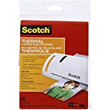 Scotch Thermal Laminating Pouches, 5.2-Inch x 7.2-Inch (Per Pouch), 5-Mil thick, 20  Pouches, (TP5903-20-C)