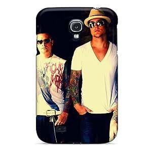 LisaSwinburnson Samsung Galaxy S4 Great Hard Phone Cases Support Personal Customs Fashion Papa Roach Image [Bds166vXYl]