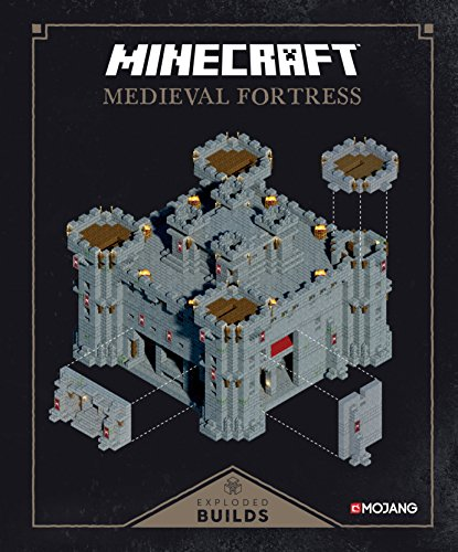 Minecraft: Exploded Builds: Medieval Fortress: An Official Mojang Book -