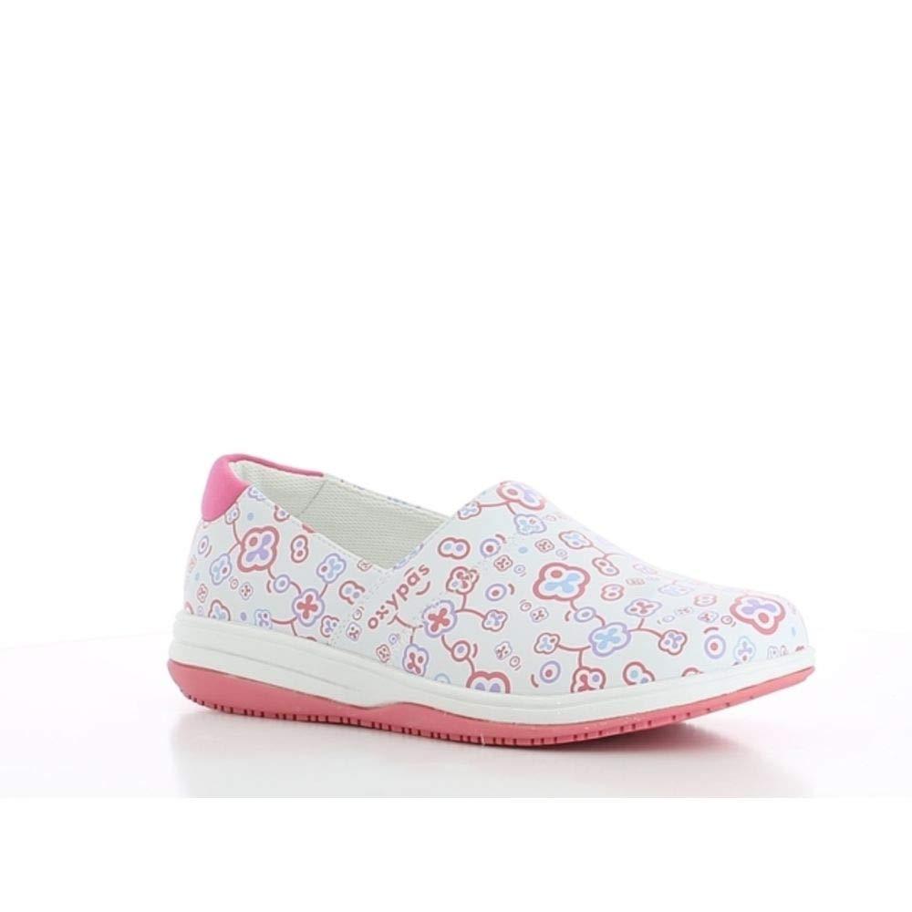 Womens Safety Shoes Oxypas Suzy Wht Blanco .5 EU