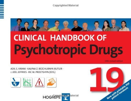 By Adil S. Virani Clinical Handbook of Psychotropic Drugs (19th revised and expanded) pdf epub