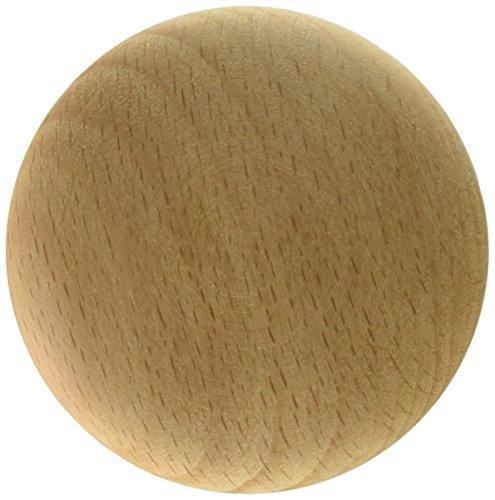 Laurey 32701 2-Inch Natural Wood Mushroom (Laurey Wood Knobs)