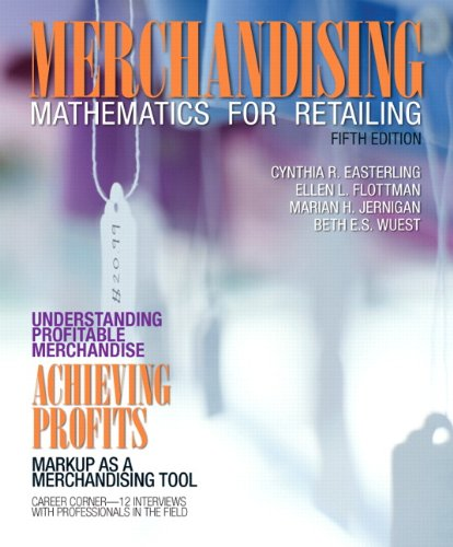 Merchandising Mathematics for Retailing 5th Edition Fashion