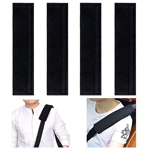 4 Pack Car Seat Belt Cover, Soft Seat Belt Shoulder Pads Cushion Strap Cover for Kids/Adults, No More Rubbing on The Neck, Suitable for Car Seat Belt, Backpack, Shoulder Bag