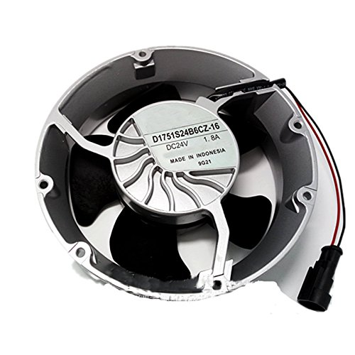Tebuyus Replacement D1751S24B6CZ-16 DC 24V 1.8A For ACS510 ACS550 ABB Inverter Cooling Fan by Tebuyus