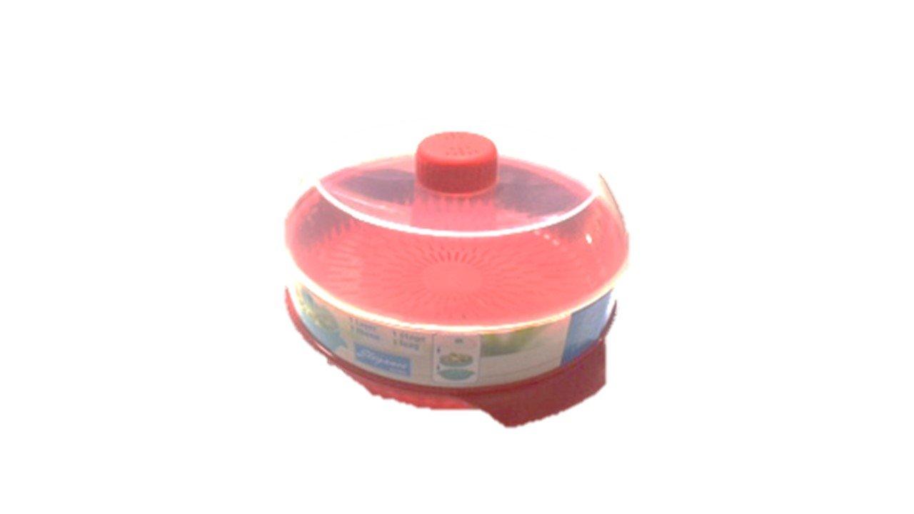 Vaporera de microondas, redondo: Amazon.es: Hogar
