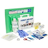 PhysiciansCare by First Aid Only 25 Person/160 Piece First Aid Kit and 16 oz Eye Wash Station, 24-500