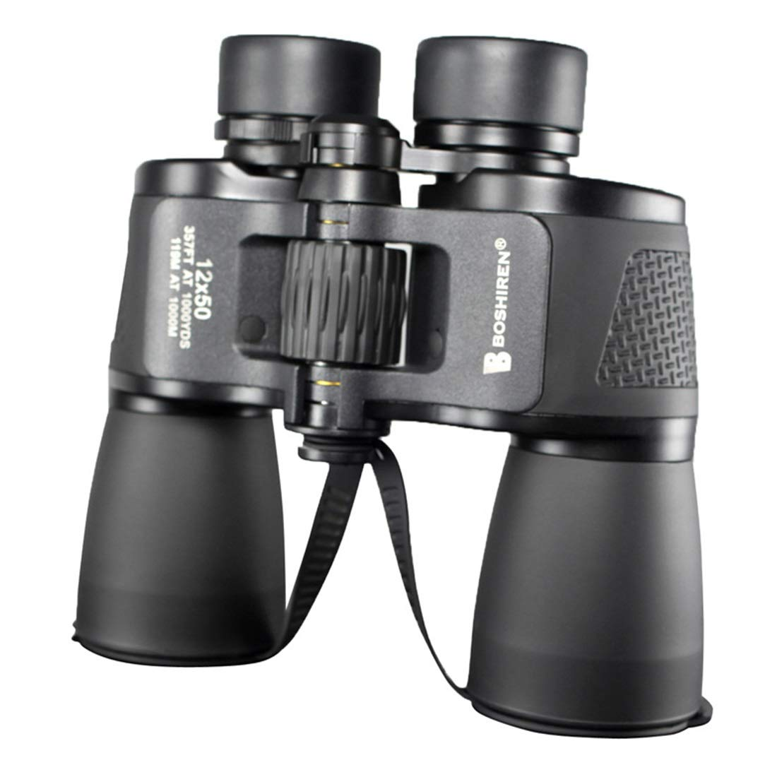 ZGQA-GQA 10x40 Compact Binoculars for Kids and Adults, Folding Metal Telescope for Bird Watching,Outdoor Camping and Sports Game for Adult (Edition : 12x50) by ZGQA-GQA