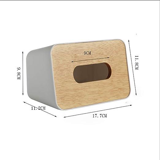 Xiaoyu Caja De Pañuelos, Caja De Pañuelos De Papel Caja De ...