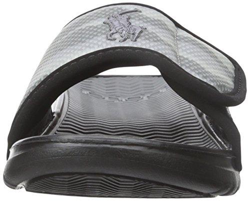 Men's Black Slide Polo Camo Lauren Sandal Ralph Romsey Black BZYYwEgq