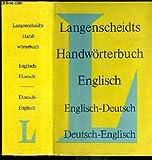 img - for Langenscheidt's Handworterbuch Teil I Englisch: Englisch - Deutsch book / textbook / text book