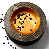 The kitchen dweller, wood bowl, wooden bowl, gift for the kitchen, bowl in Asian style, crockery in Chinese style, bowl with wide sides