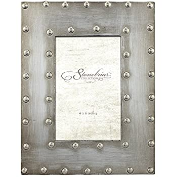 Amazon.com - Stonebriar Industrial Distressed Metal Photo Frame with ...