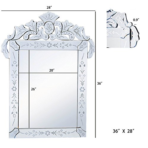 Mirror trend large bathroom mirror venetian design wall for Bathroom mirror trends