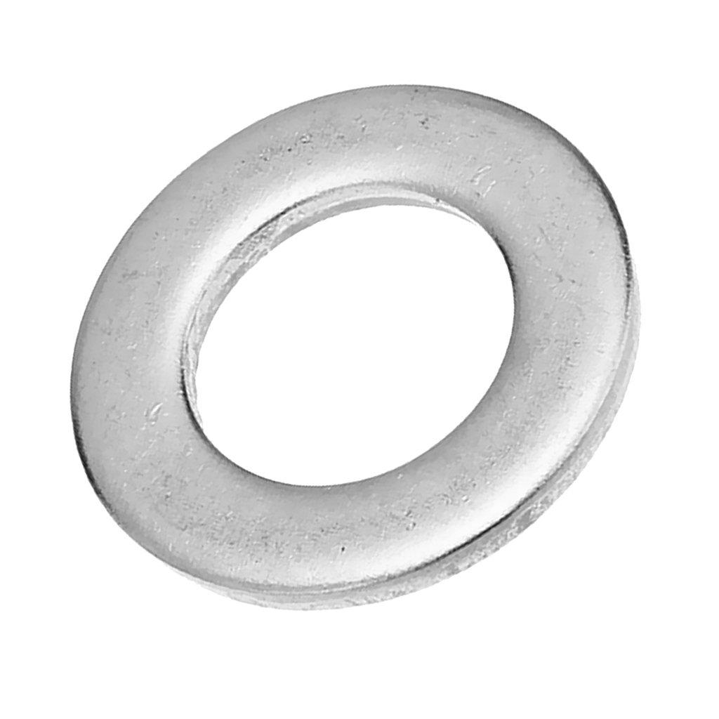 Sharplace In Acciaio Rondella Piatto Isolante Guarnizione Set Di 50pz Metallici M5