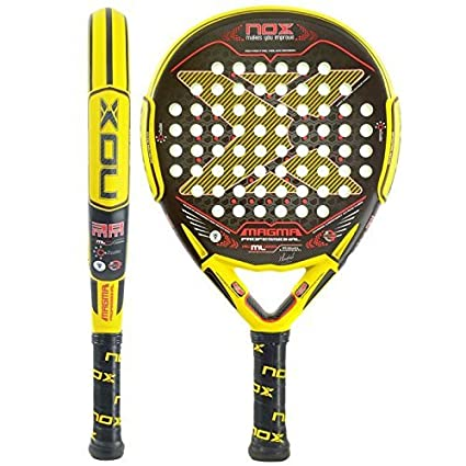 Amazon.com : NOX Magama Mate Padel Tennis RacquetYellow by NOX : Sports & Outdoors
