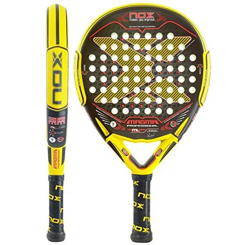 Amazon.com : NOX Magama Mate Padel Tennis RacquetYellow by ...