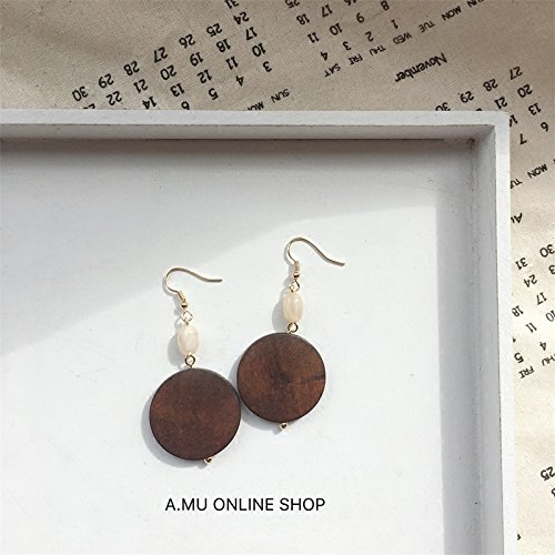Amazoncom D Recommended Autumn And Winter Brown Round Wooden
