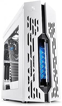 Caja Gamer Storm Genome blanco/azul: Amazon.es: Electrónica