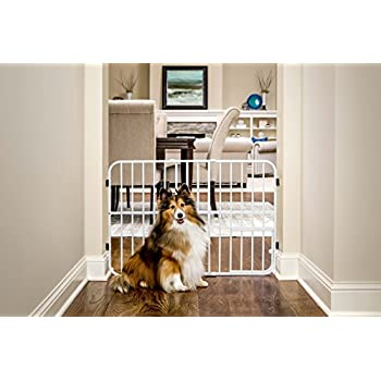 Amazon Carlson Metal Expandable Pet Gate 26 42 Inches Wide