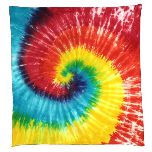 Sunshine Joy Tie Dye Rainbow Spiral -