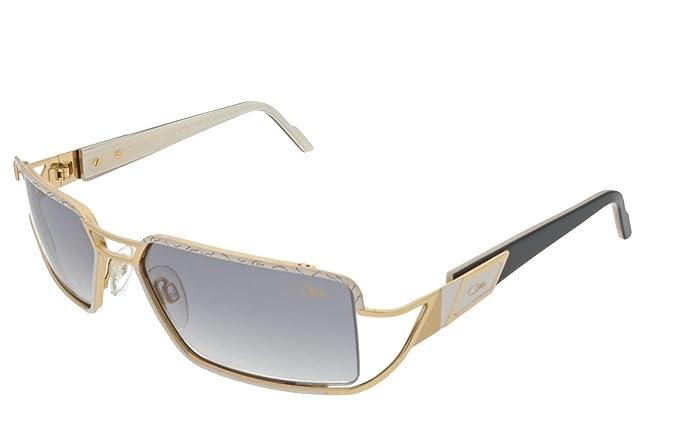 Cazal - Gafas de sol - para mujer Negro Negro Y Oro: Amazon ...