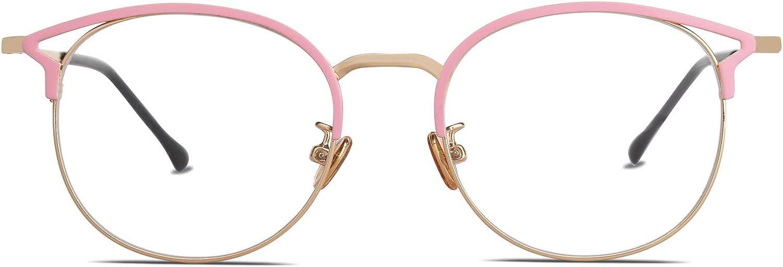 SOJOS PC Gaming Brille mit Blaulichtfilter zum Blockieren von Kopfschmerz und Augenbelastung Anti Blaulicht Brillen Katzenaugen Computer Brille Oasis SJ5035