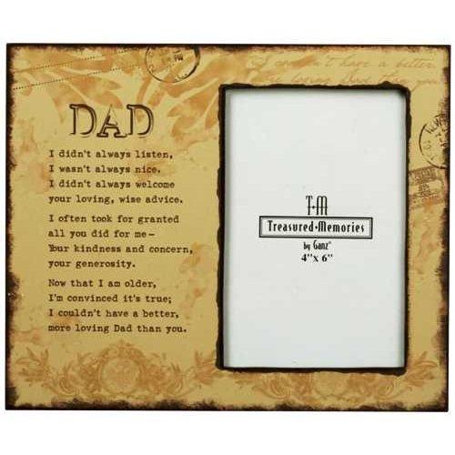amazoncom memorial frame loving dad