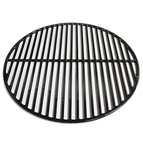 (Hongso PCI991 Porcelain Coated Cast Iron Cooking Grid Grate Replacement for Large Big Green Egg, Vision Grill VGKSS-CC2, B-11N1A1-Y2A Gas Grill, 18 3/16 Inch Diameter)