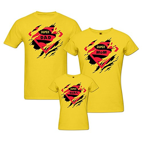 f3c924f88 pepperClub Family Tshirt - Set of 3 for Mom Dad and Daughter: Amazon.in:  Clothing & Accessories