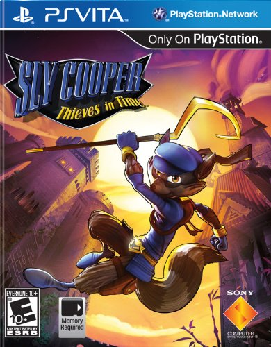 Sly Cooper: Thieves in Time - PlayStation Vita (Best Sly Cooper Game)