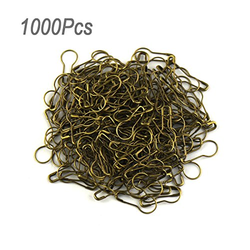 lieomo 1000pcs Pear shaped Hanging Tags Bronze product image