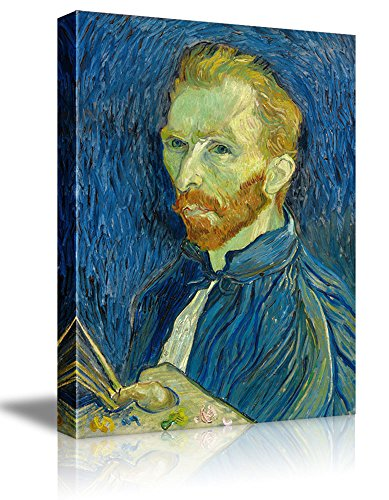 Self Portrait as a Painter by Vincent Van Gogh Oil Painting Reproduction